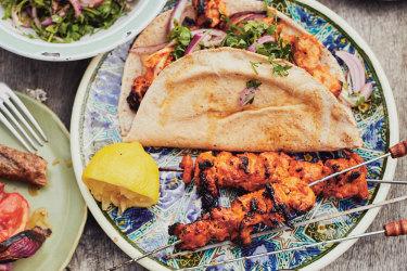 Chicken shish kebabfrom Sumac by Anas Atassi,