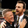 Tigers had to straighten up 'irritated' Hardwick to avoid derailment