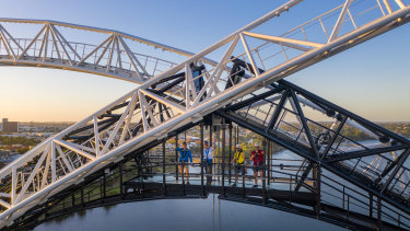 The Matagarup bridge climb will start on January 26.