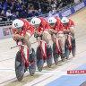 World records tumble on the velodrome as Denmark stun Australia, Britain