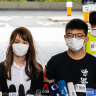 Joshua Wong and other HK activists charged over banned Tiananmen vigil