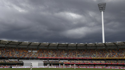 Australia vs India LIVE updates: Downpour cuts day two short at the Gabba