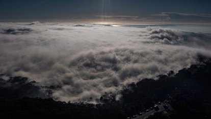 Fog blankets Sydney as smoke haze continues to linger