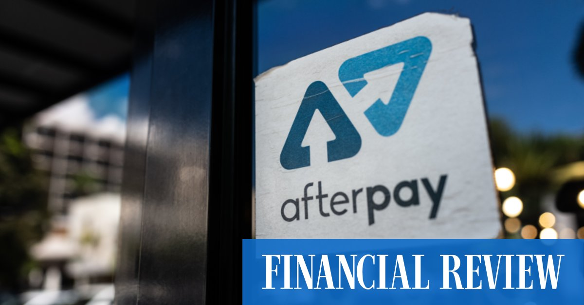 ASX 'poster child' Afterpay leapfrogs Telstra – The Australian Financial Review