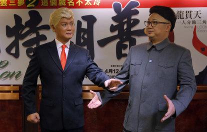 Donald Trump meets Mao and Kim Jong-un in Hong Kong opera