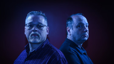 Criminal profilers Mark MacKizer (left) and Kim Rossmo.