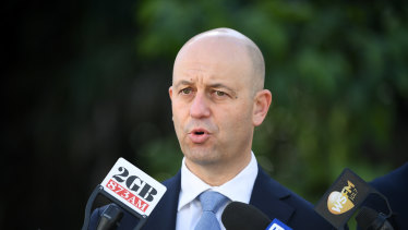 Time to shine ... NRL chief executive Todd Greenberg.