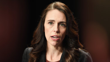 New Zealand Prime Minister Jacinda Ardern is standing with Australia.