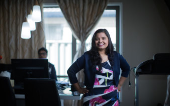 IT specialist Mohini Karki says she has never been happier.