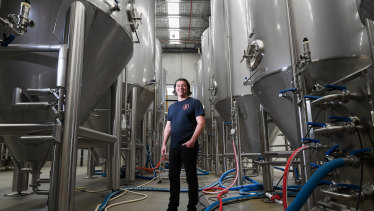 'We are giving brewers an alternative path, they can use our equipment and free up money for marketing and not put it into stainless steel': Paul Bowker, co-founder of Brick Lane Brewing.