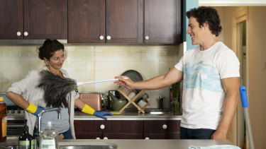 It's complicated: Heather (Doris Younane) and Ben (Stephen Peacocke) have an undeniable attraction.