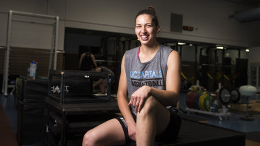 Canberra Capitals star Marianna Tolo will return from a major knee injury on Sunday.