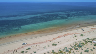 Subsea 7's proposed pipeline facility development site at Exmouth Gulf.