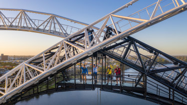 The Matagarup bridge climb will start on January 26.