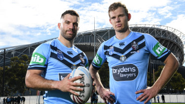 James Tedesco and Tom Trbojevic are two of the best players in the NRL, forming a strong combination for NSW at Origin level.