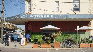 Fremantle's Patisserie La Vespa.