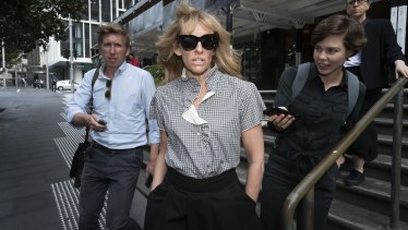 Toni Collette appeared as a character witness.