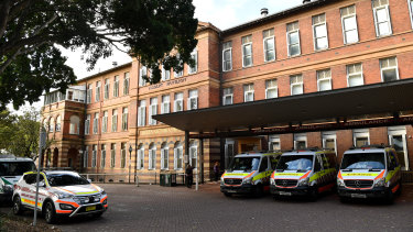 Royal Prince Alfred Hospital was banned from training certain registrars.