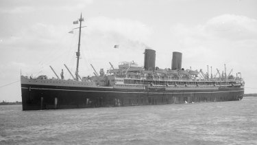 Margaret Alvin arrived in Australia with her family aboard S.S. Mooltan.