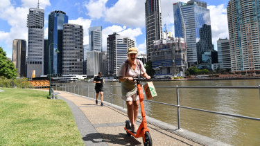 Electric scooters are here to stay for another year in Brisbane.