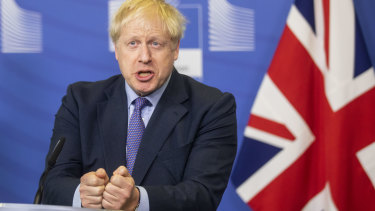 Boris Johnson, UK Prime Minister.
