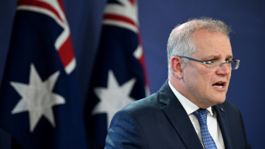 """Scott Morrison is having """"rolling"""" meetings with key cabinet ministers."""