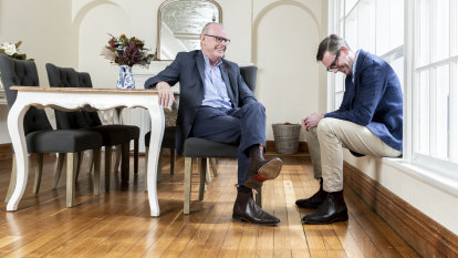 NSW Treasurer Dominic Perrottet: lessons from my father, John