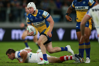 The Eels hooker has stripped nearly five kilos and found it easier coping with the ruck speed.
