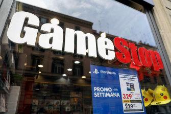 GameStop was worth about $US2 billion in December. Now it is valued at around $US13.5billion