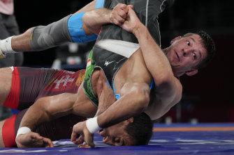 Greco-Roman wrestling at the Tokyo Olympics produced more twists than a pretzel.