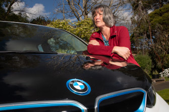Engineering consultant Kathleen Davies is one of the plaintiffs taking the Victorian government to court over the electric vehicle tax.