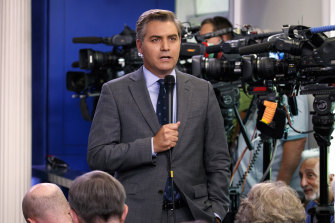 CNN's White House correspondent Jim Acosta had his press credentials revoked by the White House after a clash with Trump.