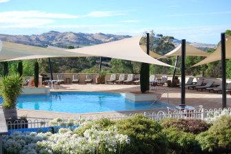 The Barossa Valley resort.