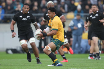 Pete Samu put the All Blacks on the back foot in the Bledisloe opener.