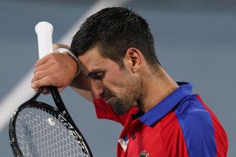 "Novak Djokovic's hopes of the ""golden slam"" have been dashed."