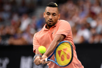 Nick Kyrgios has moved up to No.20.