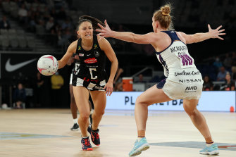 Magpie Molly Jovic was a positive for the side in their season-opening loss.