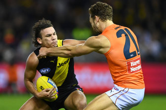 Tigers coach Damien Hardwick put the small crowd that watched Richmond play GWS down to Marvel Stadium.