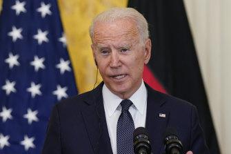 President Joe Biden is expected to speak to Australian Prime Minister Scott Morrison in the coming days.