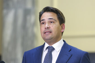 National leader Simon Bridges wants some restrictions lifted.