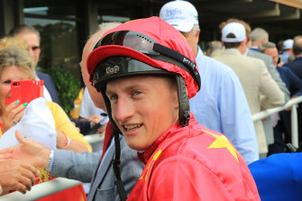 English jockey Tom Marquand would not have qualified to come  to Sydney this year under the proposed performance criteria.