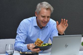 Melbourne deputy mayor Arron Wood is challenging for the top job.