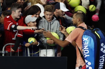 Kyrgios '100 per cent' wants to be on Olympic team