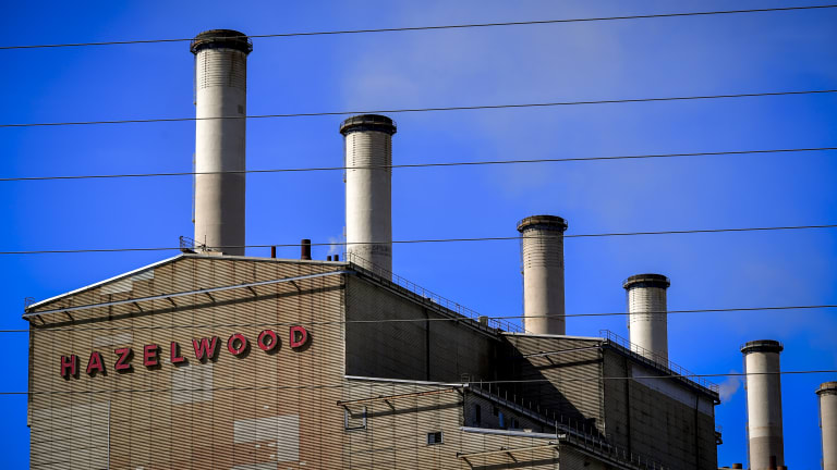 The former Hazelwood power station. Its closure provided a big boost to generators' profits.