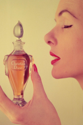 """Christian Dior described Miss Dior as """"the fragrance of love""""."""