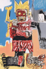 Jean-Michel Basquiat's Untitled, 1982 (detail)..