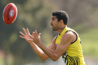 Marlion Pickett was a selection bombshell for Richmond, to make his debut in the grand final.
