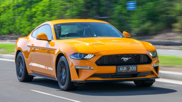 Using a Spotify-style subscription, people could be cruising down the highway in a Mustang.