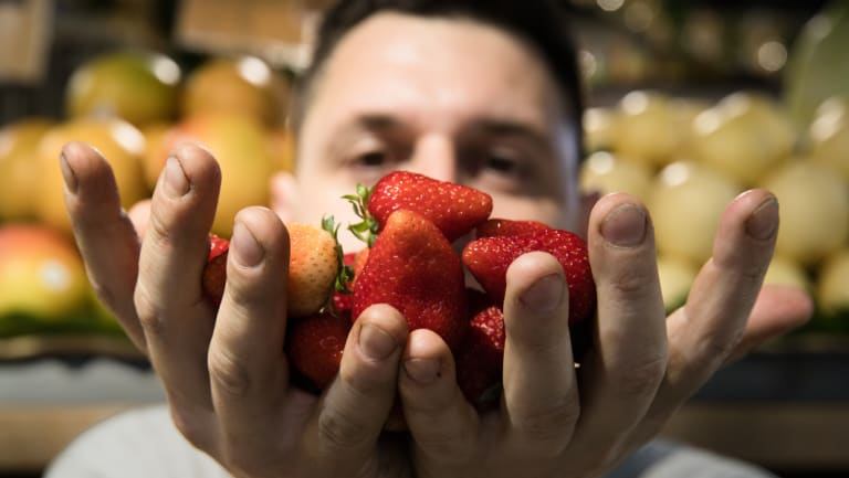 """""""With produce, you've just got to take it as it comes - it's like the stock market when it comes to supply and demand"""": Danny Macri."""