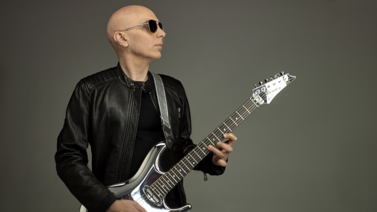 Joe Satriani is coming to Australia with his new album What Happens Next.